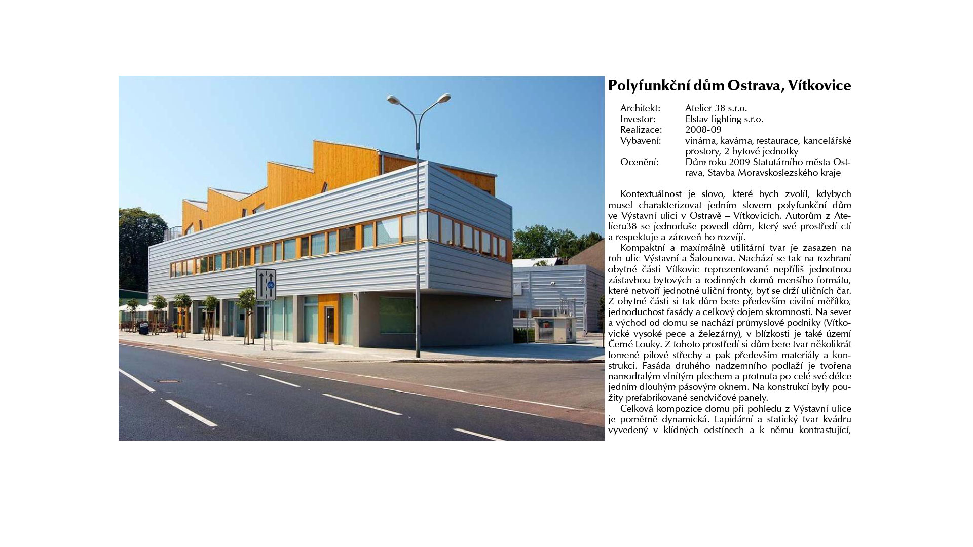 Contemporary Czech Architecture page 76